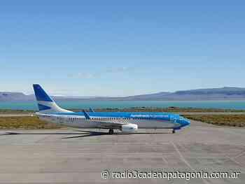 Aerolíneas aumenta frecuencias a El Calafate y suma una ruta a Córdoba - Radio 3 Cadena Patagonia