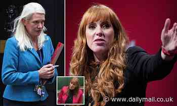 Fury from the Tories as Deputy Labour leader Angela Rayner brands them 'scum'