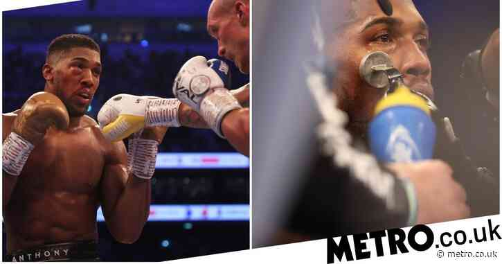 'It doesn't look great' – Eddie Hearn confirms Anthony Joshua has been taken to hospital with eye injury