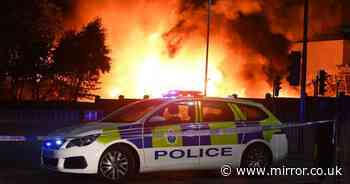 Liverpool fire: Massive blaze erupts near docks with witnesses reporting explosions