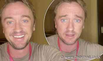 Tom Feltonreassures worried fans he's 'feeling better by the day' after collapsing at the Ryder Cup
