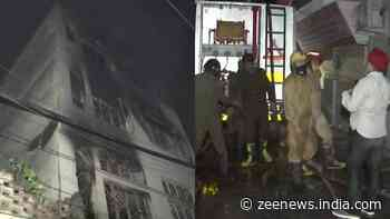 Fire breaks out at godown in New Delhi`s Dabri, no casualties reported