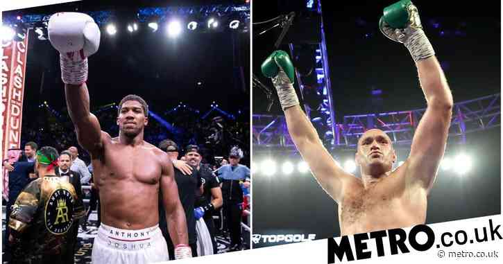 Anthony Joshua sends message to Tyson Fury and Deontay Wilder following Oleksandr Usyk defeat