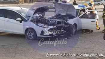 Fuerte choque con heridos en El Calafate - El Diario Nuevo Dia