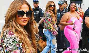 Jennifer Lopez and Lizzo arrive at Global Citizen Live Festival ahead of their performances