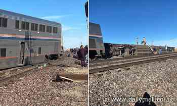 'Multiple' people are injured after Amtrak train carrying 147 passengers derails in Montana
