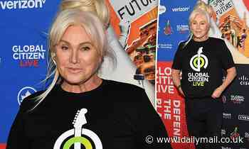 Hugh Jackman's wife Deborra-Lee Furness looks quirky cool at the Global Citizen Live concert