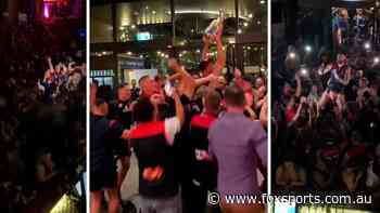 Party like it's 1964! Dees go CRAZY in all-time premiership after-party