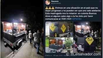 Policía encuentra food truck de emprendedores reportado como robado en Santa Ana - elsalvador.com