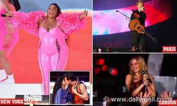 Jennifer Lopez, Billie Eilish and Doja Cat lead the stars across the world at Global Citizen Live