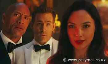 Gal Gadot puts Ryan Reynolds and The Rock through the ringer in Red Notice sneak peek