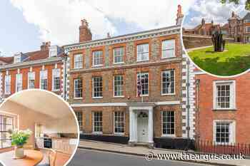 Grade II listed property in heart of Lewes yours for £2.5m