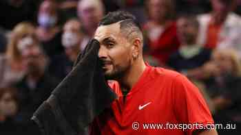 Kyrgios drops big retirement hint after seven-year low, opens up on family health concern