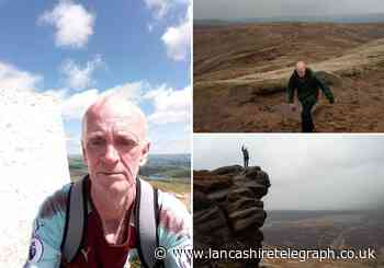 Formerly homeless man from Burnley starts hiking after turning life around