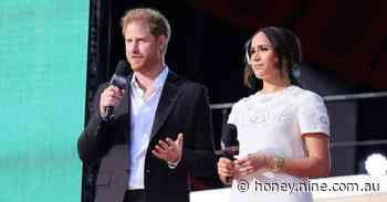 Prince Harry and Meghan Markle promote vaccine equality at Global Citizen Live festival in New York - 9Honey
