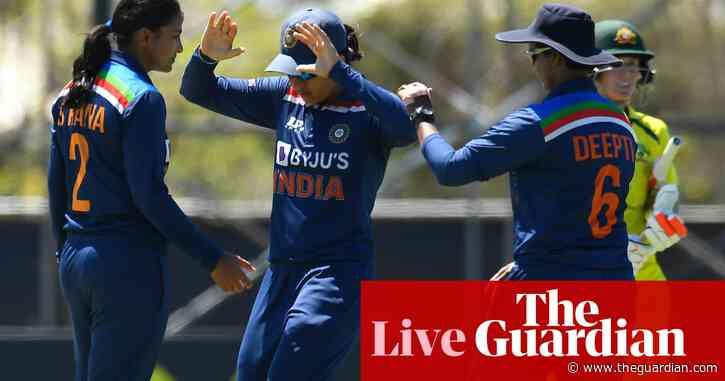 Australia v India: third women's one-day international – live!