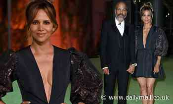 Halle Berry and Van Hunt are picture of elegance for Academy Museum of Motion Pictures opening gala