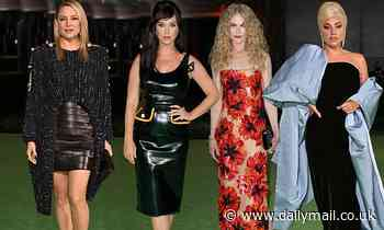 Hollywood's leading ladies turn up the glamour at the Academy Museum of Motion Pictures gala in LA