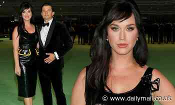Katy Perry and fiance Orlando Bloom attend the Academy Museum Of Motion Pictures opening gala in LA