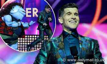 The Masked Singer Australia: Osher Gunsberg makes a VERY crude joke about The Mullet costume