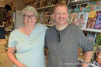 Na veertig jaar als beenhouwer neemt Marc samen met echtgenote Marina krantenwinkel over