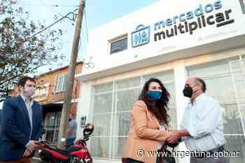 Merquel y el intendente Caram inauguraron en Mercedes el primer Mercado MultiplicAR de la Argentina - Argentina.gob.ar Presidencia de la Nación