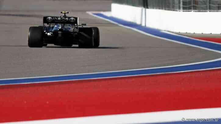 Los Mercedes, con Bottas al frente, también dominaron en la 2° sesión en Sochi - ESPN