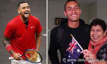 Tennis bad boy Nick Kyrgios hints at retirement as he quits every tournament to see his sick mum