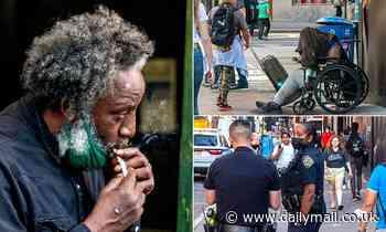 Photos show rampant drug use among the homeless around Penn Station