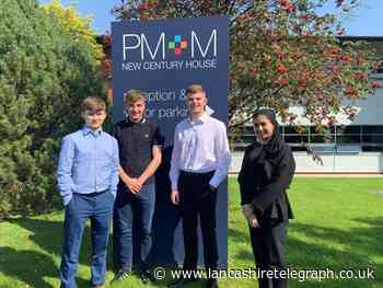 Bury: PM+M welcome new apprentices