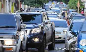 Realizan estudio del tránsito en Asunción y alrededores para solucionar congestión vial - Hoy
