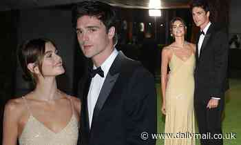 Kaia Gerber and Jacob Elordi attendThe Academy Museum's Opening Gala in Los Angeles together