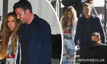 Jennifer Lopez and a clean-shaven Ben Affleck leave Global Citizens Live with other stars in NYC