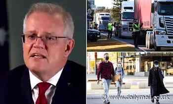 Scott Morrison demands Australian states open borders when they hit 80 per cent Covid vaccination
