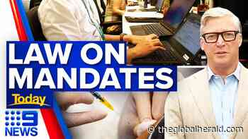Can the unvaccinated be sacked from their jobs?   Coronavirus   9 News Australia - The Global Herald - The Global Herald