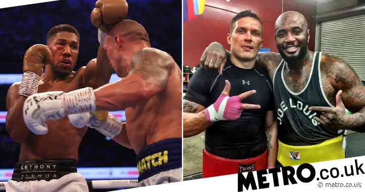 Deontay Wilder's trainer and Andy Ruiz Jr. react to Anthony Joshua's defeat to Oleksandr Usyk