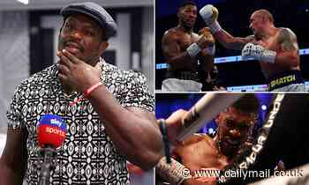 Dillian Whyte delivers a withering assessment of Anthony Joshua's performance