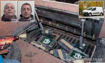 Drug runners busted with £2 million of cocaine jailed for 11 years