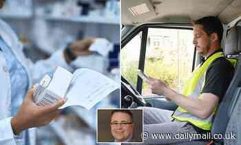 Pharmacies warn of drugs delay: Lack of van drivers sees 'reduced' deliveries