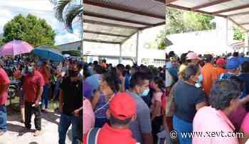 Suspende Salud jornada de vacunación para hoy miércoles en Comalcalco - XeVT 104.1 FM | Telereportaje