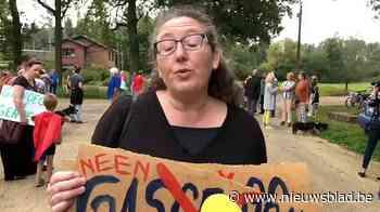 """Protestmars tegen gascentrale in Tessenderlo: """"Genoeg is genoeg"""""""