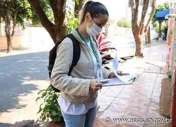 Saúde inicia cadastramento da população para agilizar os serviços de saúde no município - Prefeitura de Assis