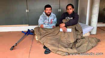 Após ter auxílio doença cortado e ser despejado, morador de Assis acampa em frente ao INSS - Assiscity