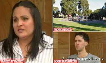 Two 'Covid-deniers' charged after allegedly attacking family picnicking in Melbourne