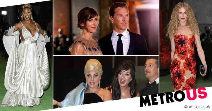Lady Gaga and Katy Perry are friendship goals as they lead stars at Academy Museum of Motion Pictures gala