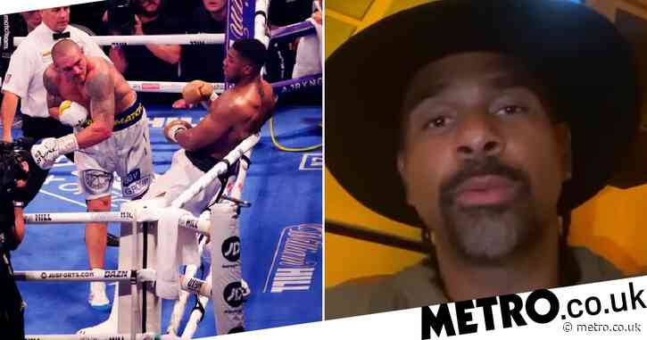 David Haye, Lennox Lewis and Dillian Whyte tell Anthony Joshua how to beat Oleksandr Usyk in rematch