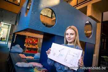 Nena tekent droomhut voor nieuwe bibliotheek