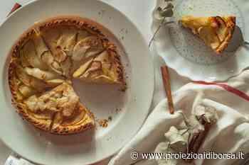 Una profumata torta tutta autunnale con mele e noci - Proiezioni di Borsa