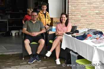 Amakuzand organiseert garageverkoop