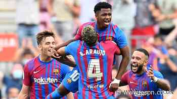 Ansu nets in first Barcelona match for 10 months